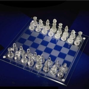 Crystal Chess Sets WSJS