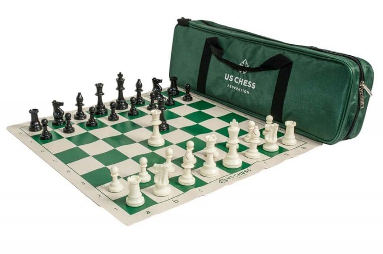 US Chess Federation Supreme Triple Weighted Chess Set