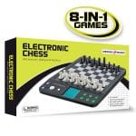 Croove Electronic Talking Chess and Checkers Set 8-in-1 Game