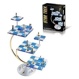 50th Anniversary Star Trek Tridimensional Chess Set by Franklin Mint
