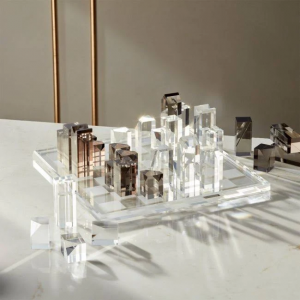 Acrylic Chess Set by CB2
